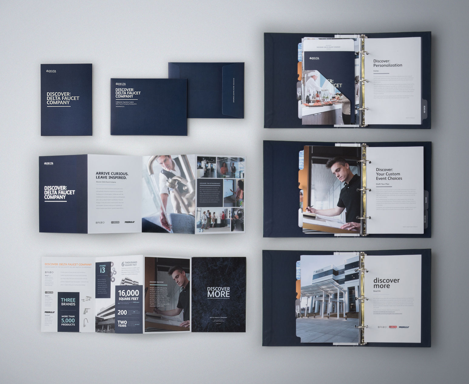 Event Invitation & Sales Rep Planning Materials